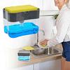 Dispensador de Detergente con Soporte para Esponja