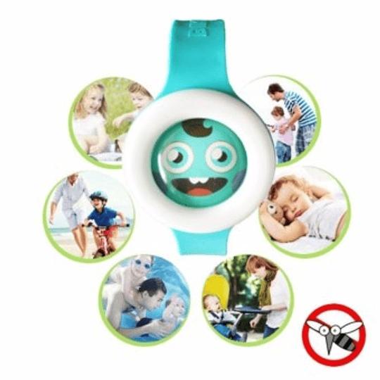 Pulsera Tipo Reloj Repelente Mosquito Zancudos