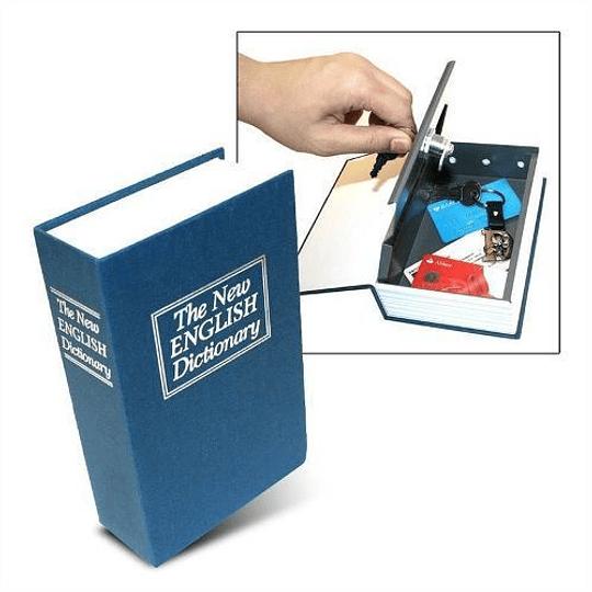 Caja Fuerte Seguridad Con Diseño Libro