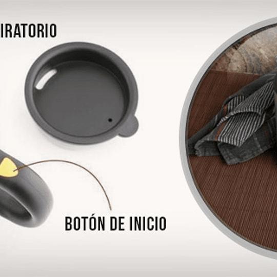Tazon Mug Con Revolvedor Automatico Electrico