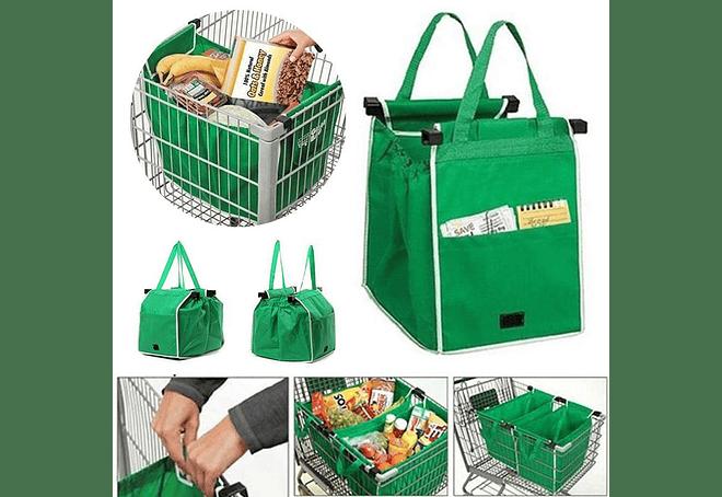b966d5afe Pack 2 Bolsas Ecologicas Reutilizable Para Supermercado