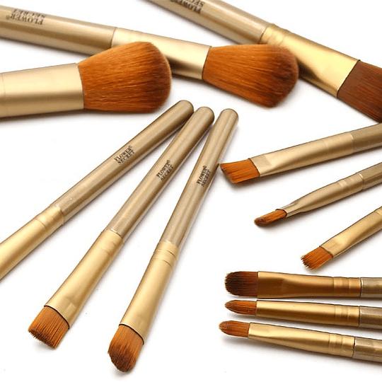 Set 12 Brochas De Maquillaje