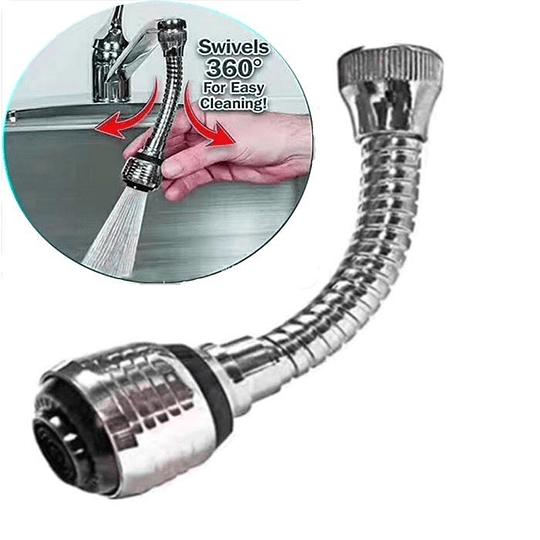Extension Flexible Llave De Agua Turbo Flex 360