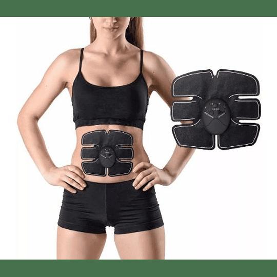 Parche Electroestimulador Abdominal Tonificador Muscular Ems