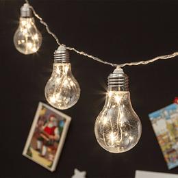 Guirnaldas Ampolletas Luz Color Micro Led