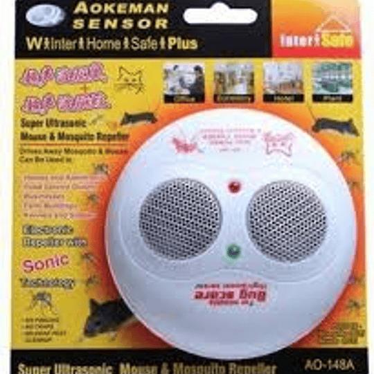 Repelente Raton Mas Mosquitos Ultrasonico