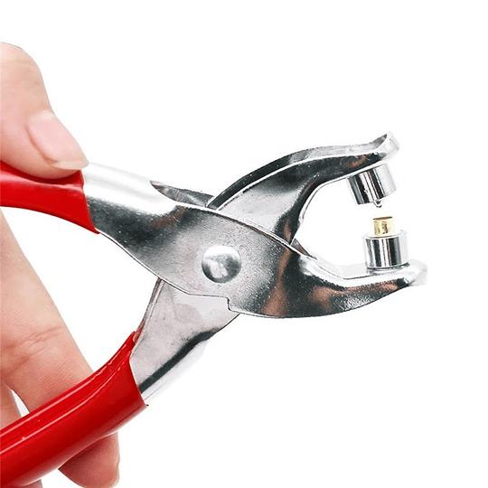 Perforador con Remache tipo Alicate + Ojales