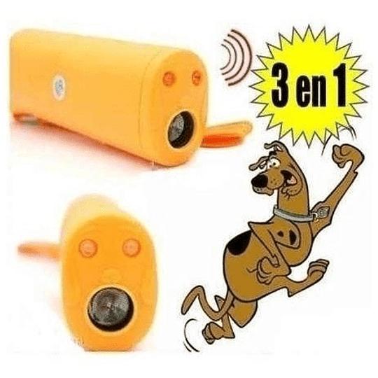 pack 4 Repelente Auyentador Entrenador De Perros Con Linterna
