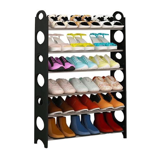 pack 3 Organizador de Zapatos tipo Estante para 18 Pares
