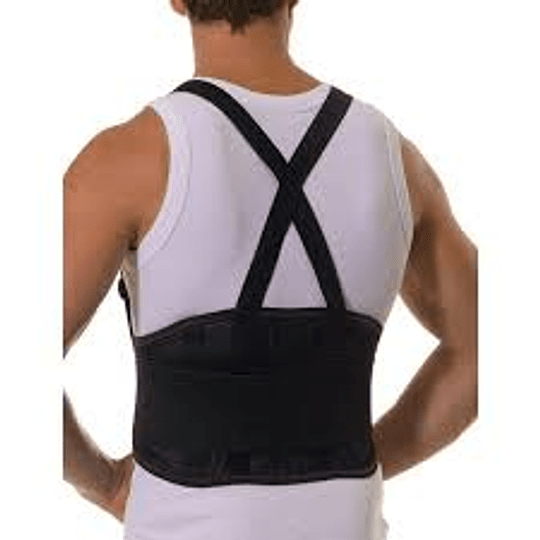 Faja Lumbar con Corrector de Postura