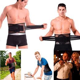 Faja Hombre Entrenador Cintura Reduce  Daforma En 2 Pasos