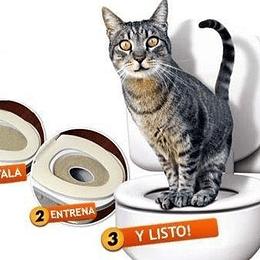 Baño Para Gatos, Entrenamiento Wc, No Mas Arena Sanitaria