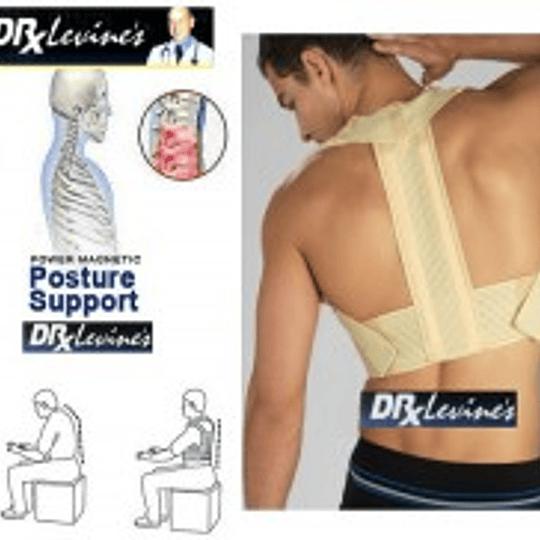 Corrector Postura Unisex Con Soporte Metálico