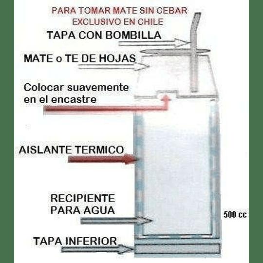 Termo Matero Fluvion 500 Cc. Original Argentino