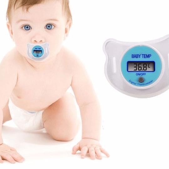 Termómetro Chupete Digital Para Bebes