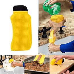 Esponja Silicona 3 En 1 Para Lavar Loza