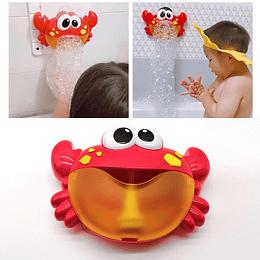 Maquina en Forma de Cancrejo Para Hacer Burbujas En Tina