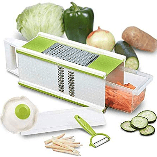 Rallador Verduras o Frutas Multifuncional