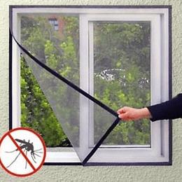Cortina Anti Mosquitos Para Ventana Con Velcro 150X180 CMS