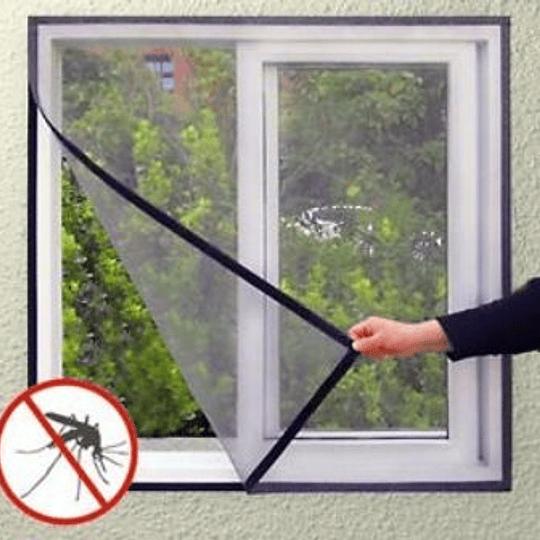 Cortina Anti Mosquitos Para Ventana Con Velcro 150X150 CMS