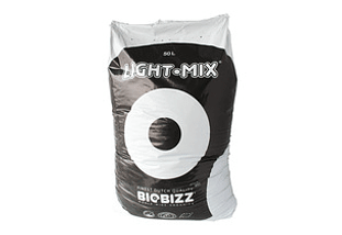 Sustrato Cultivo Indoor BioBizz Light Mix 50 Litros