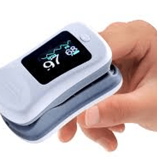Saturometro Oximetro De Pulso Pantalla