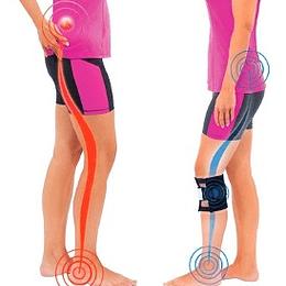 Pack 2 Rodillera para Dolor de Espalda O Nervio Ciatico