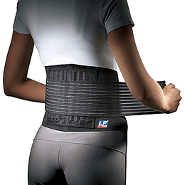 Pack 2 Faja Lumbar Con Soporte Cintura Hernia