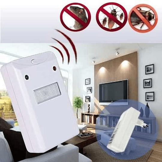 Repelente Electrónico  Ratones Plagas Bichos