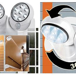 Lampara Luz Con Sensor de Movimiento