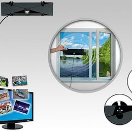Antena Interior Alta Definición Para Tv Lcd Hd Tv Plasma