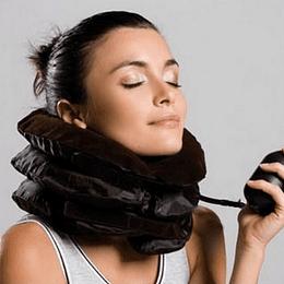 Cojín Cervical Cuello Inflable Para Dolores Estrés Y Postura