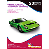 Vinilo Adhesivo Transparente Empavonado Waterproof A4/135g/20hojas