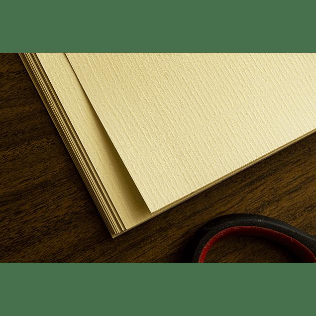 Papel Adhesivo Matte TEXTURA : Cream Wave A4/100g/20 Hojas