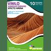 Vinilo Adhesivo Dorado Efecto Arena A4/10 hojas
