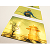 Vinilo Adhesivo Dorado Imprimible A4/20hojas