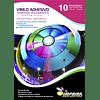 Vinilo Tornasol Adhesivo Holografico Efecto Pixel  A4/10 hojas