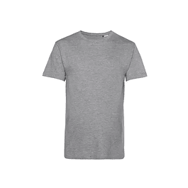 POLERA ALGODON ORGANICO ECOLOGICA VEGANA ANTIALERGICA(color heather grey)
