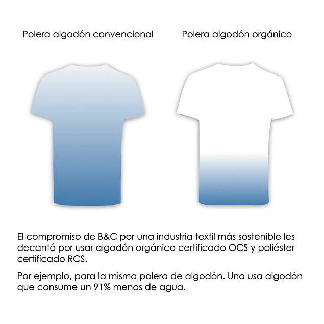 POLERA ALGODON ORGANICO ECOLOGICA VEGANA ANTIALERGICA(color heather grey)