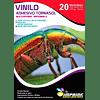 ¡¡¡OFERTA!!!  Caja 20 Resmas de Vinilo Adhesivo Tornasol Imprimible A4/20hojas  ¡¡¡OFERTA!!!