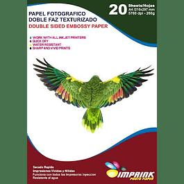 Papel Fotografico  Textura Cuero A4/20 Hojas