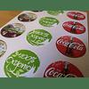 Etiquetas Foto Brillantes Redondas Troqueladas Diametro 3cm/1080un