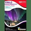Vinilo Tornasol Adhesivo A4 Diseño mixto 10 hojas