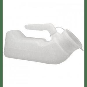 Pato urinario de plástico