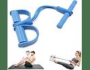 Pedal Elástico De Resistencia Body Trimer 4 tubos 1