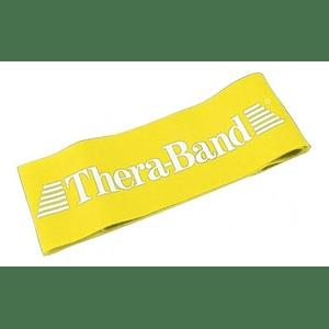 Banda Loop Elástica de Resistendia Theraband Loop Amarilla