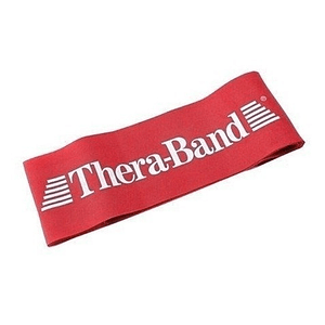 Banda Loop Elástica de Resistendia Theraband Loop Roja