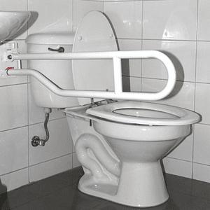 Barra de Seguridad para Baño Abatible