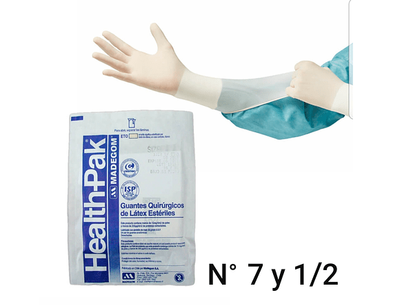 Guante Estéril Health Pak 3