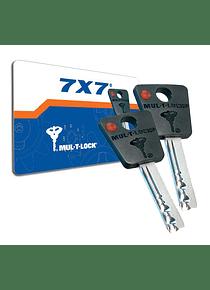Duplicado de llave MUL-T-LOCK 7X7